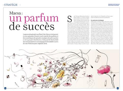 Illustration til fransk magasin