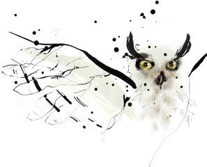 Omslags illustration, Munthe plus Simonsen. Tush, akvarel, gouache. Færdigjort i Photoshop