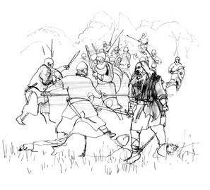 16. Slaget v. fodevig