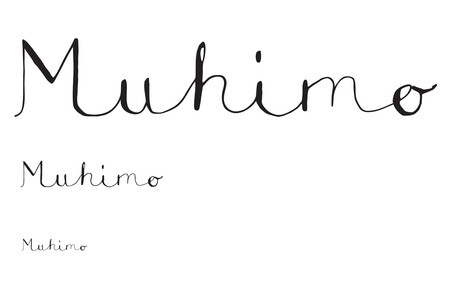 Muhimo Illustration and logo 2017