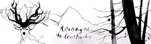 "Header til Norsk hjemmeside, 2014 ""Rosemary and The Deerhunters"""