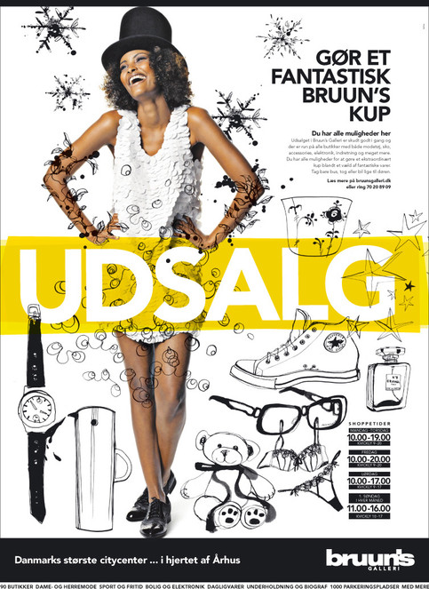 Brunns Bazar 2010, winther sales campaign