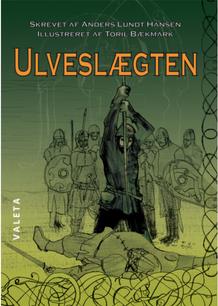 Ulveslægten af Anders Lundt Madsen 2018. Omslag