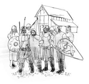 17. Harald Kesjas død