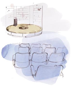 Scenen. Bestilt af Århus Teater til brug ved ansøgning om tilskud