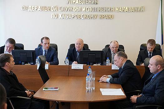 Взаимодействие УФСИН Хабаровск с бизнес-сообществом края