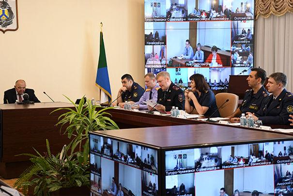 Представители УФСИН России по Хабаровскому краю приняли участие в совещании по вопросам развития предпринимательства