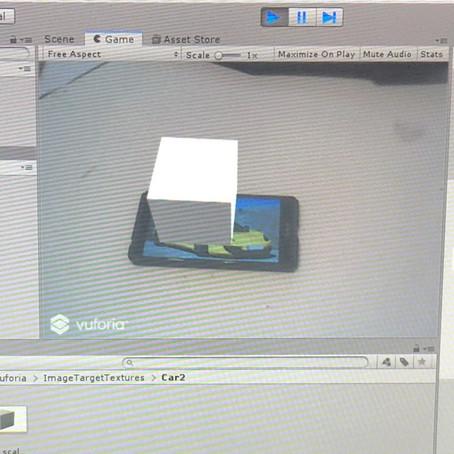 Первое AR приложение для мобильного устройства