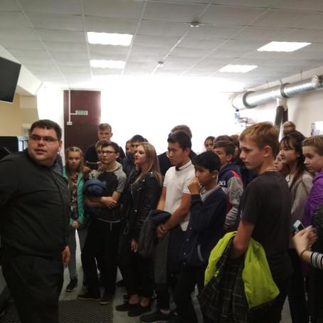 ЦМИТ «Инноватор» проводит экскурсию для учеников лицея г. Красный Кут