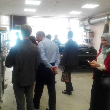 Делегация из Ирака посетила ЦМИТ Инноватор