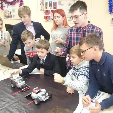 Завершились открытые робототехнические соревнования