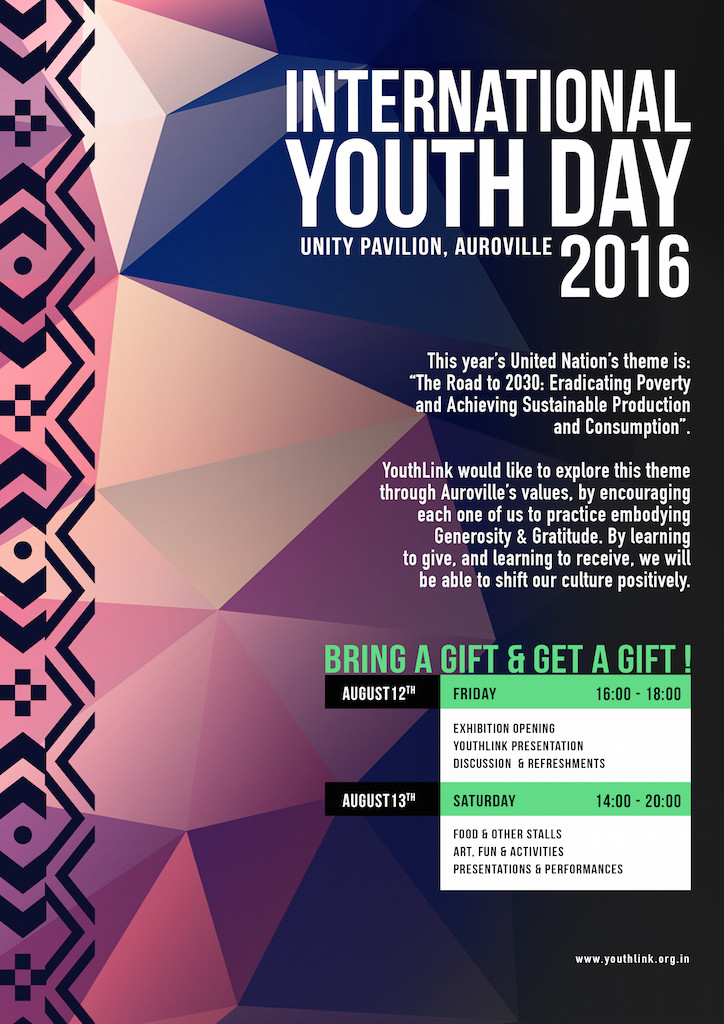 International Youth Day 2016 Poster