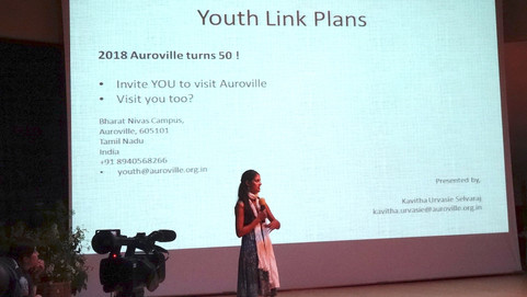 Auroville Youth at GEN +20 Summit, Scotland