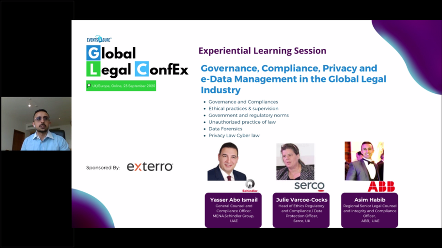 Governance, Compliance, Privacy and e-Da