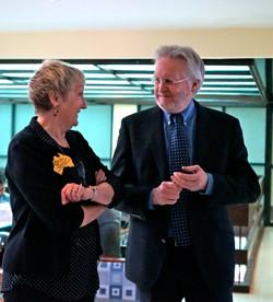 Australian Ambassador and R Murray MH Exchange 2015
