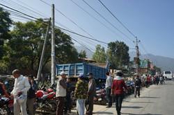 Petrol Queue Kathmandu Valley
