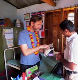 Dhola Birthing Equipment Donations