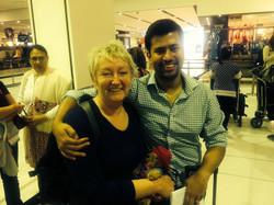 Anil Shrestha and Robyn Murray