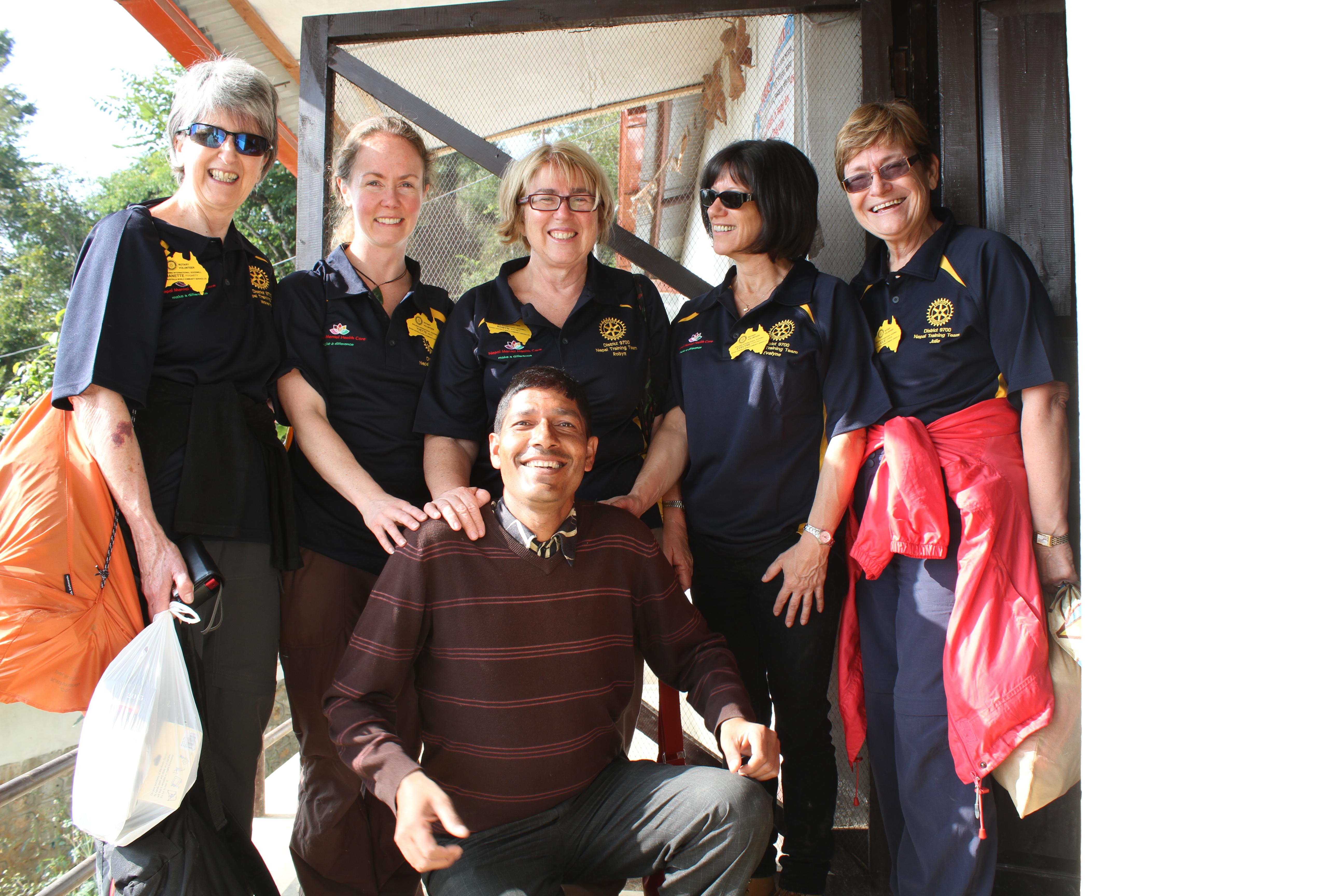 Team with Gyanu at Maidi 2014