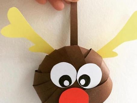 Рождественская игрушка на ёлочку.