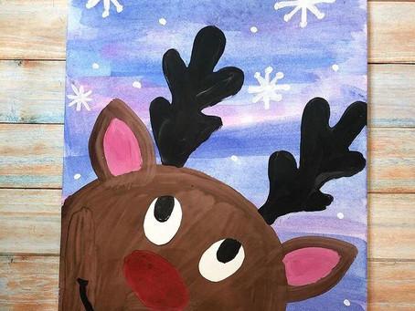 Рождественский ангел на ёлочку и новогодний олень. Мастерим вместе с детьми.