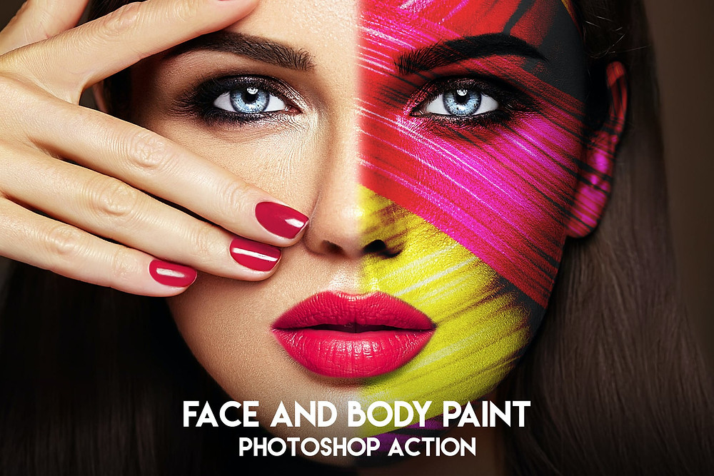 how to add body paint in photoshop