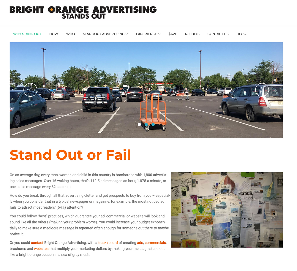 X3 Marketing Compares Pittsburgh Advertising Agency Websites to our own