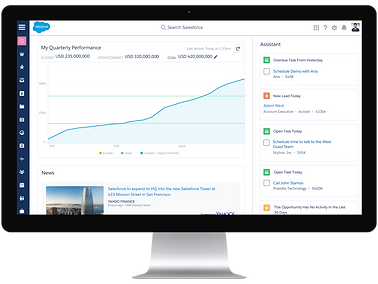 Bi-directional sync with Salesforce means a record of every email open, CTA click, and form submission is at your fingertips. Use this data to score leads and create segmented lists.