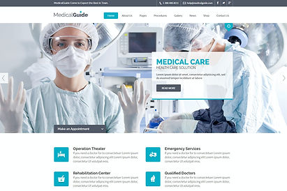 medical website template download x3 mar
