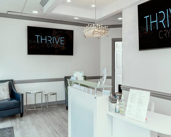 Thrive Cryo Spa Office Fairmont West Virginia