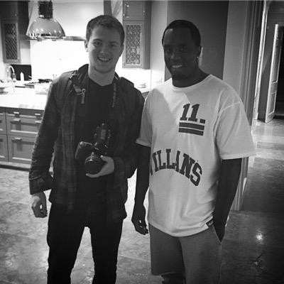 Frank Udavcak with Forbes 500 member Puff Daddy or P. Diddy from Revolt
