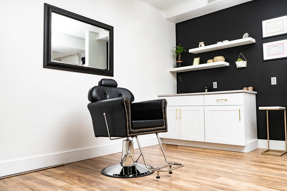avere beauty botox lip filler chair Pittsburgh botox seat