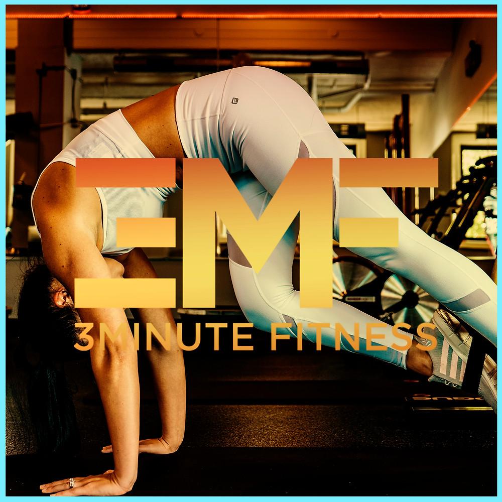 girl in yoga pants doing exercises