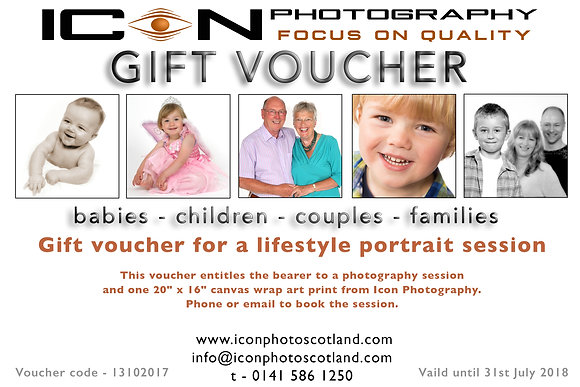 Icon Portrait Voucher 2
