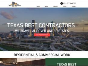 Welcome www.texasbestcontractorsllc.com to the Kingdom, D'Signs King Houston