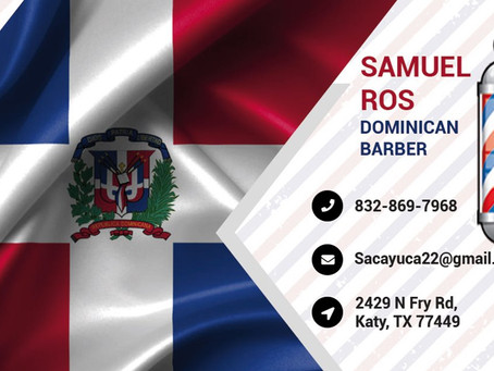 Welcome Samuel Ros Dominican Barber to the Royal Family of D'signs King, www.dsignsking.com