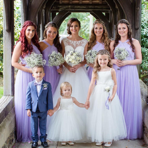 wedding hairstyling by Lynnette Chasmer in Essex