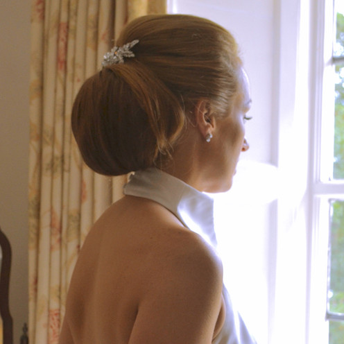 Chignion wedding hairstyle by Lynnette Chasmer