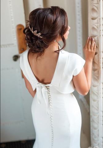 Luxury wedding hairstyling Lynnette Chasmer