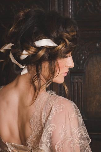 Boho hairstyling Lynnette Chasmer mua Debbie Lloyd
