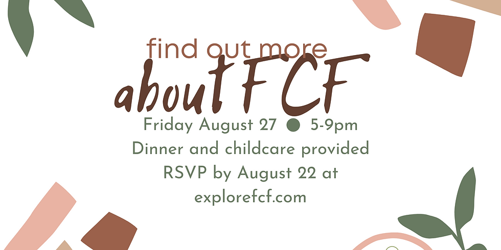 find out more ABOUT FCF