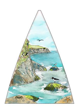 Coastal (Umbrella panel)