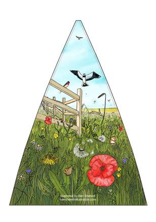 Meadows (Umbrella panel)
