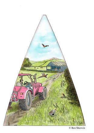 Farmland (Umbrella panel)