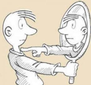 Proyecciones y ley del espejo