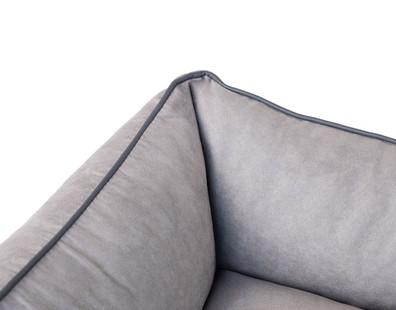Velour One Silver Grey Detail