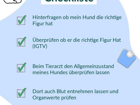 Checkliste vor dem Abnehmen