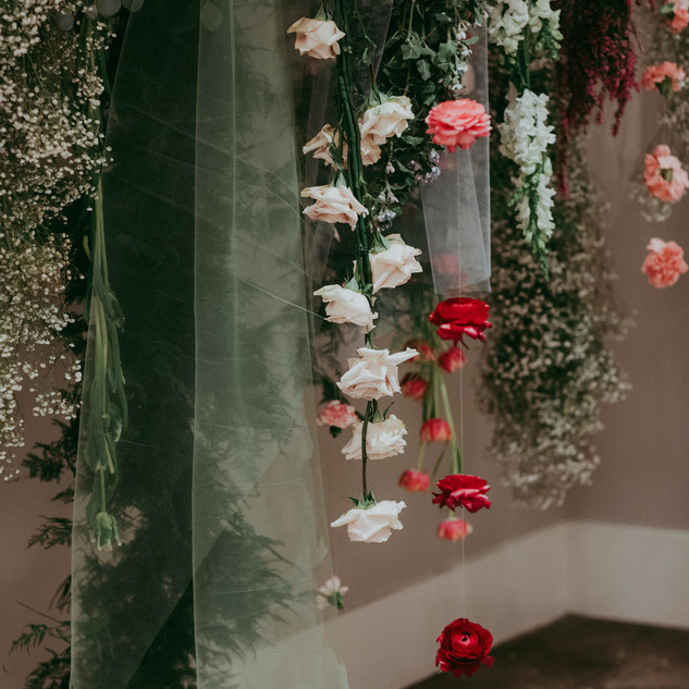Flower Installations - East Olivia x BHLDN