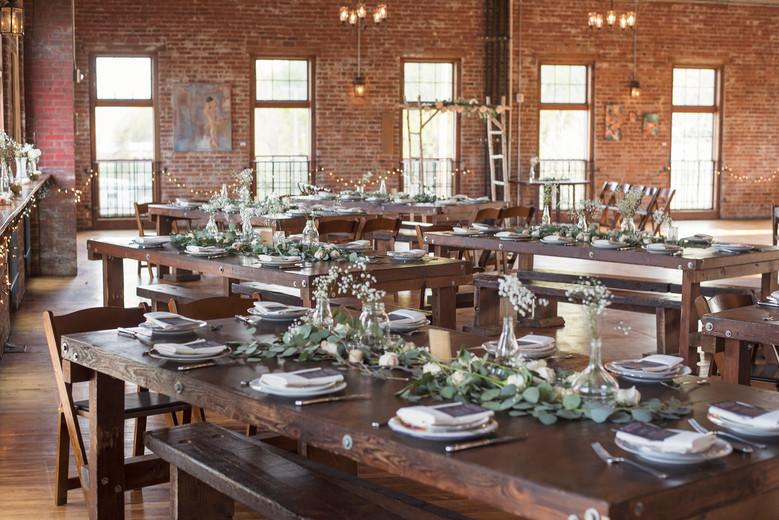 Kristen's Wedding + Floral Arrangements