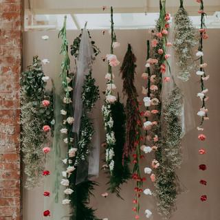 Flower Installations - East Olivia x BHLDN